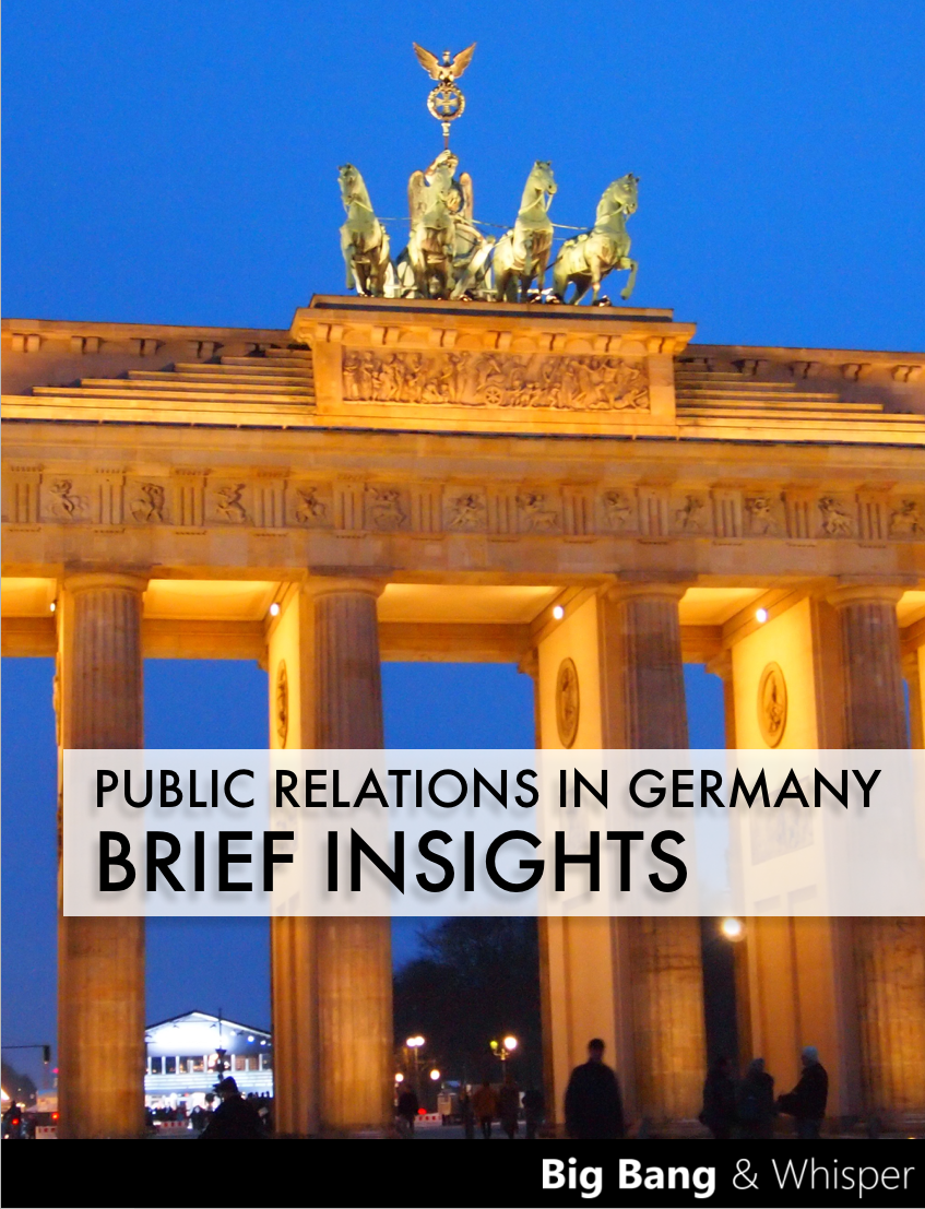 Public Relations in Germany – Brief Insights – Free Ebook
